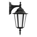 ALU1047I/DNB - Vanjska zidna svjetiljka LIGURIA E27/60W/230V crna