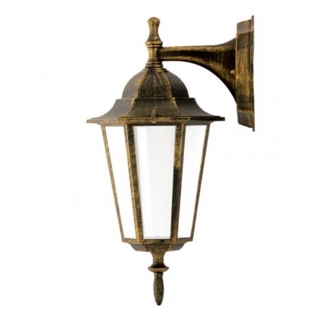 ALU1047I/DNP - Vanjska zidna svjetiljka LIGURIA E27/20W/230V patina