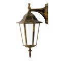 ALU1047I/DNP - Vanjska zidna svjetiljka LIGURIA E27/60W/230V patina
