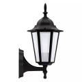 ALU1047IB - Vanjska zidna svjetiljka LIGURIA E27/60W/230V crna