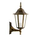 ALU1047IP - Vanjska zidna svjetiljka LIGURIA E27/60W/230V patina