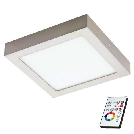 Eglo 78768 - LED RGB Stropna svjetiljka za prigušivanje TINUS 1xLED/6W/230V