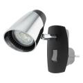 Eglo 96845 - LED Zidna lampa za utičnicu MONCALVIO 1xGU10/3,3W/230V