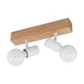 Eglo - Stropna svjetiljka 2xE27/60W/230V
