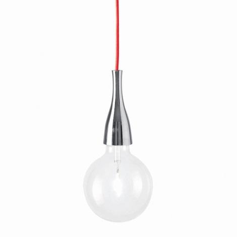 Ideal Lux - Viseća svjetiljka 1xE27/42W/230V sjajni krom