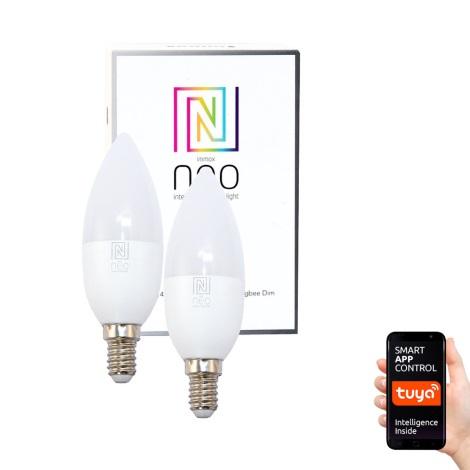 Immax NEO - 2xLED žarulja za prigušivanje E14/5W/230V ZigBee