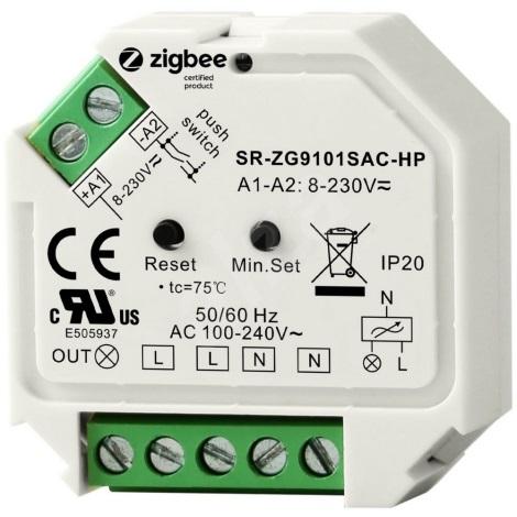 Immax NEO - Prekidač-  prigušivač za svjetiljke Zigbee 3.0