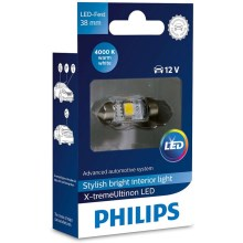 LED Auto žarulja Philips X-TREME ULTINON 128584000KX1 LED SV8.5-8/0,8W/12V 4000K