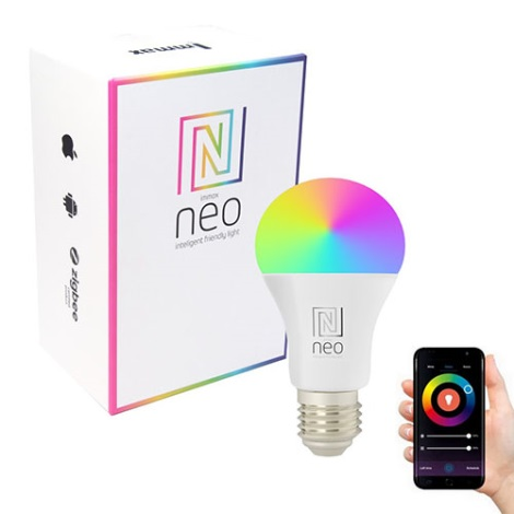 LED RGB Prigušiva žarulja NEO LITE Wi-Fi Smart E27/9W/230V Tuya