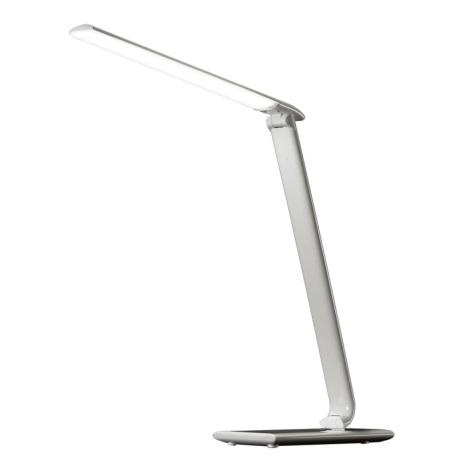 LED stolna lampa za prigušivanje USB konektor LED/12W/230V bijela