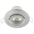 LED Ugradna svjetiljka náklopné LED/7W srebrna