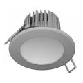 LED Ugradna svjetiljka za kupaonicu LED/7W/230V 4000K siva IP44