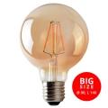 LED Žarulja LEDSTAR AMBER G95 E27/8W/230V 2200K