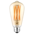 LED Žarulja LEDSTAR AMBER ST64 E27/10W/230V