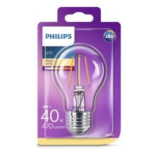 LED žarulja Philips E27/4W/230V 2700K