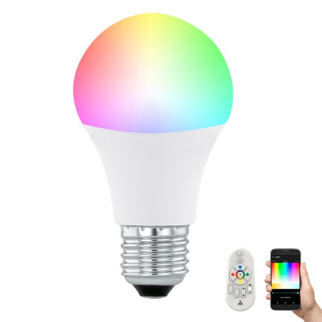 LED žarulja za prigušivanje CONNECT E27/9W + daljinski upravljač - Eglo 11585