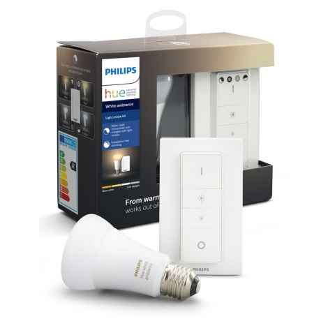 LED Žarulja za prigušivanje Philips HUE WHITE AMBIANCE 1xE27/8,5W/230V