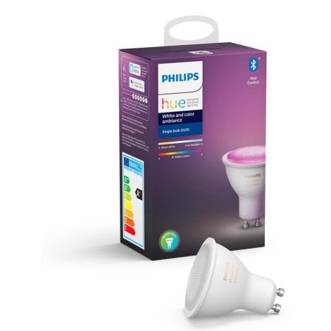 LED Žarulja za prigušivanje Philips HUE WHITE AND COLOR AMBIANCE GU10/5,7W/230V