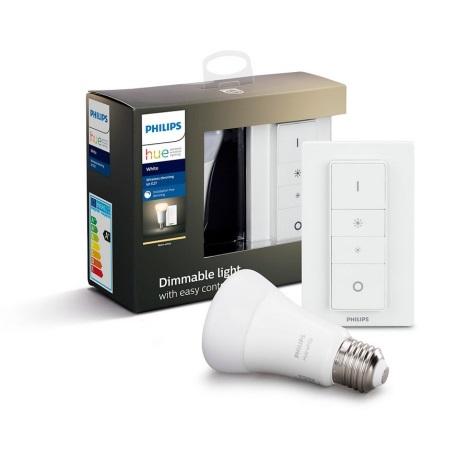 LED Žarulja za prigušivanje Philips HUE WHITE E27/9W/230V