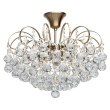 MW-LIGHT - Viseći luster CRYSTAL 6xE14/60W/230V
