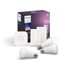 Osnovni set Philips HUE WHITE AND COLOR AMBIANCE 3xE27/9W/230V