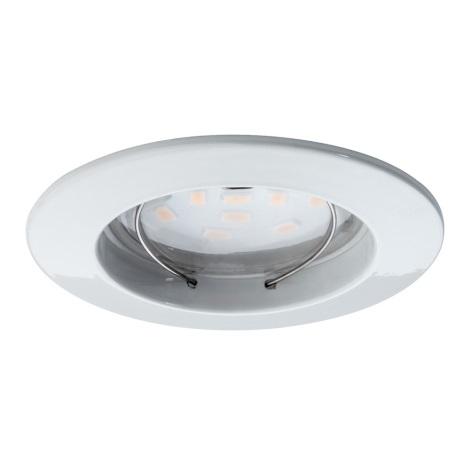 Paulmann 92754 - LED/6,8W Ugradbena svjetiljka za kupaonicu COIN 230V IP44