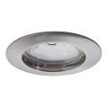 Paulmann 92756 - LED/6,8W Ugradbena svjetiljka za kupaonicu COIN 230V IP44