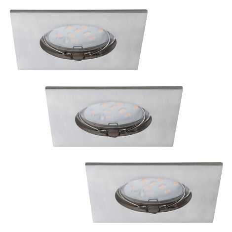 Paulmann 92762 - SET 3xLED/6,8W Ugradbena svjetiljka za kupaonicu PREMIUM 230V IP44