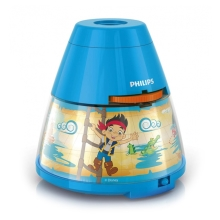 Philips 71769/05/16 - LED Dječji projektor DISNEY PIRATE LED/0,1W/3xAA