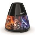 Philips 71769/30/P0 - LED Dječji projektor DISNEY STAR WARS LED/0,1W/3xAA