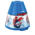 Philips 71769/40/16 - LED Dječji projektor MARVEL SPIDER MAN LED/0,1W/3xAA