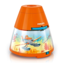 Philips 71769/53/16 - LED Dječji projektor DISNEY PLANES LED/0,1W/3xAA