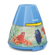Philips 71769/90/16 - LED Dječji projektor DISNEY DORY LED/0,1W/3xAAA