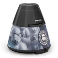 Philips 71769/99/16 - LED Dječji projektor DISNEY STAR WARS LED/0,1W/3xAA