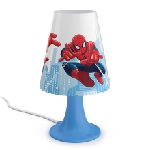 Philips 71795/40/16 - LED Dječja stolna lampa MARVEL SPIDER MAN LED/2,3W/230V