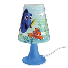 Philips 71795/90/16 - LED Dječja stolna lampa DISNEY DORY LED/2,3W/230V