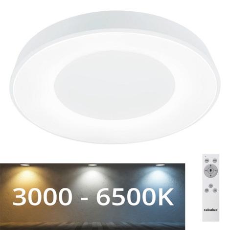 Rabalux - LED Prigušiva stropna svjetiljka LED/38W/230V bijela + DU 3000-6500K