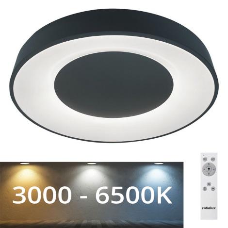 Rabalux - LED Prigušiva stropna svjetiljka LED/38W/230V crna + DU 3000-6500K