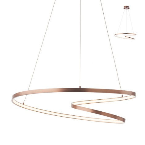 Redo 01-1379 - LED luster na sajli AVENIR 1xLED/40W/230V