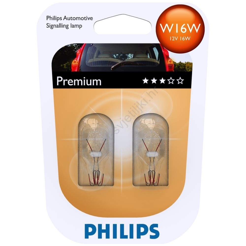Philips 12067B2 Kugellampe Vision W16W