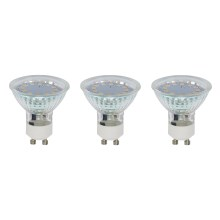 SET 3x LED žarulja GU10/3W - Briloner 0520-003