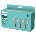 SET 3x LED Žarulja VINTAGE Philips A60 E27/7W/230V 2700K
