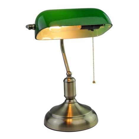 Stolna lampa BANKER 1xE27/60W/230V