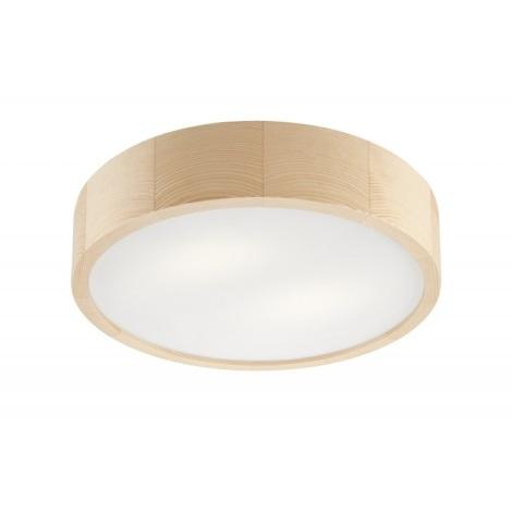 Stropna svjetiljka NATURAL 2xE27/60W/230V ø 37 cm bor