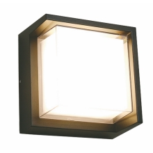 Top Light Malaga H - LED Vanjska zidna svjetiljka LED/8W/230V IP54