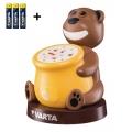 Varta 17501 - LED Dječja projektorska svjetiljka PAUL 2xLED/3xAA