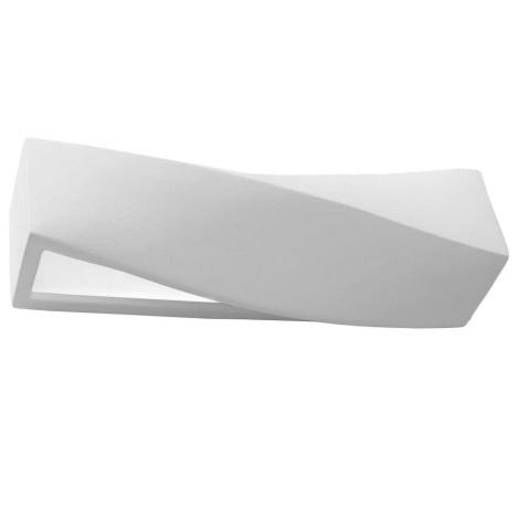Zidna svjetiljka SIGMA 1xE27/60W/230V bijela